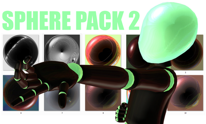 Sphere Pack 2 by TheHellNeko