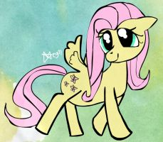 Fluttershy by Melc1010
