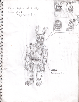 Fnaf 4: Nightmare Trap by tecnocobra