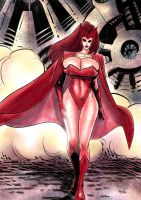 Scarletwitch01 by OneSheepArmy