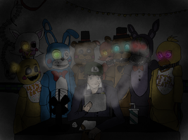 Luigikid Fanart- Five nights at Freddy's 2 by XHanna-chanX