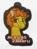 <b>Acasias Zarafu Embroidered Badge</b><br><i>equinepalette</i>