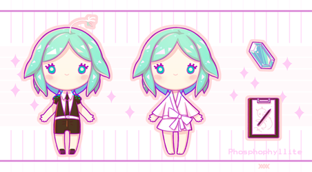 Phosphophyllite by SmWmS