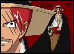 Red Hair Shanks by l3xxybaby