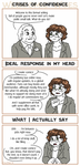 Webcomic Woes 20 - Confidence, how does it work by ErinPtah