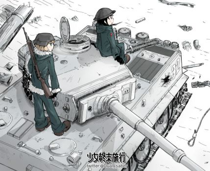 Girls' Last Tour by Dualsaber1987