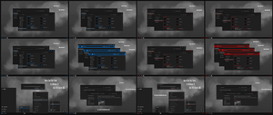 Maxtri Dark Blue and Red Theme Win10 April 2018 by Cleodesktop