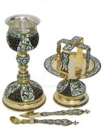 Orthodox Chalice and Bread Holder by Marahuta