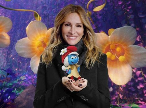 JULIA ROBERTS and SMURF WILLOW !!! by SmurfyCarl-42