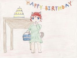 Belated Birthday Baby by Midorii-kiri