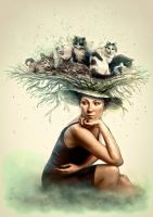 Hat full of cats by Daywish
