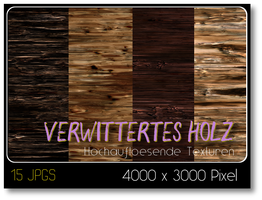 Verwittertes Holz by thobar