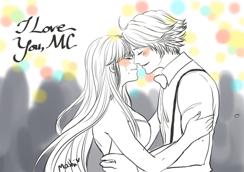 Yoosung - First Dance with You by mashi-tsushiro