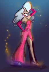 Mary Sue In Sexy Dress Coloured by Mad--Munchkin