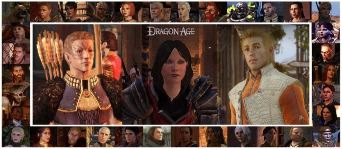 Dragon Age - Heroes and Companions by simsim2212