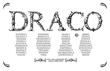Draco names by eugenesoh
