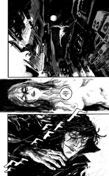 the crow fan art page 1/2 by AntoineDode