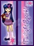 Twilight Sparkle bookmark design by Hotaru-oz