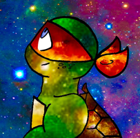 Galaxy Mikey by KittyCatXernease