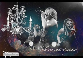Kelly Clarkson by BarbraGolba