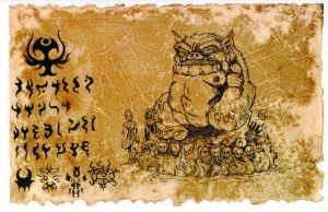 The Codex Tsathoggua 02 by hawanja