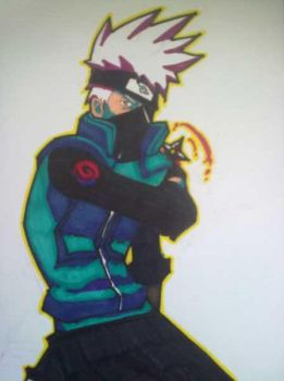 Kakashi sensei by C-WeaponX