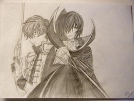 Code Geass - Lelouch and Suzaku by Lemon-Yelloww