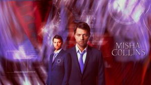 Misha Collins Wallpaper 01 By HappinessIsMusic