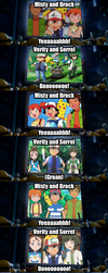 Misty and Brock fanbase in a nutshell by Willy276