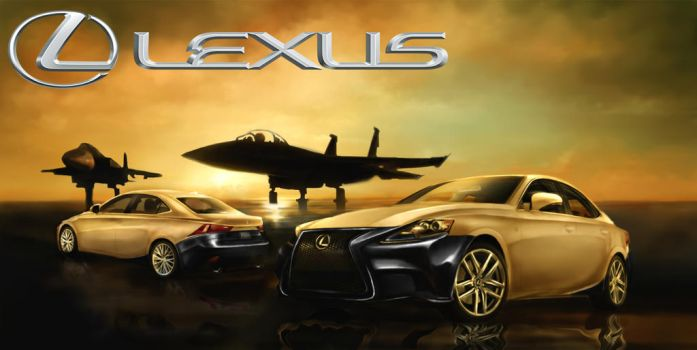 Lexus IS Design Contest by DrKujo