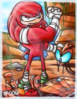 ~ Knuckles went Steroids ~ by SkaJrZombie