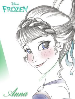 Princess Anna by Auro0109