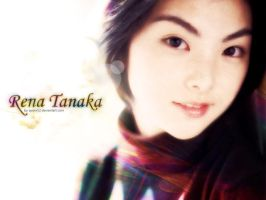Rena Tanaka Wallpaper by ayom52