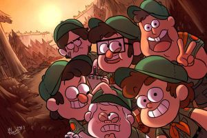 Camp Gravity Falls_Boy Scout ver by wernwern