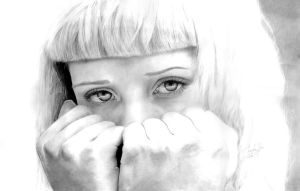 Miss Mosh -large drawing- by MirielDesign