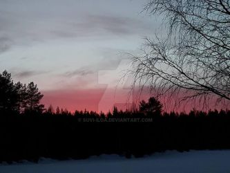 Nordic Sunset by Suvi-Iloa