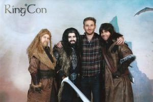 Drawfes -Fili, Thorin, Fili and Kili by Saki-Maru