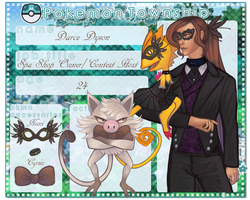 Trainer Card- Darce Dyson by DeviousOtter
