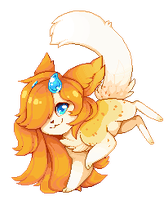 Pixel: Orange Dancer by OMGProductions