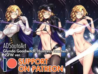 Glynda Goodwitch, Huntress Teacher - Patreon by ADSouto
