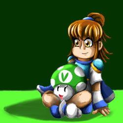 Arle Nadja and Vineshroom by Lizzaroro