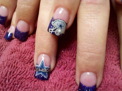 Nail art by dignifieddoll on deviantart dignifieddoll 0 0 dallas cowboys nail art by dignifieddoll prinsesfo Image collections