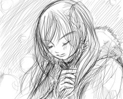 Winter sketch by shirua