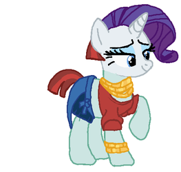 Rarity Becomeing Valley Glamour Tf 05 by qjosh