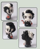 Sweeney Todd sculpture by imaginated-friend