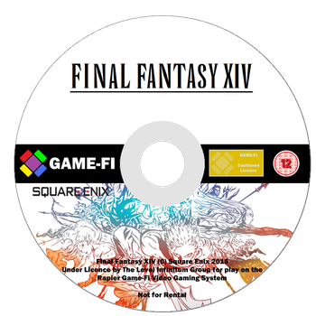 Final Fantasy XIV Game-Fi Disk by LevelInfinitum