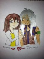 Friend request for Yoony10: Yoony and Tsubasa by YuzuErinaVictoria