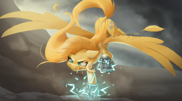 Psychoshy - Fallout: Equestria (Project Horizons) by DarkSittich
