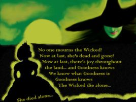 No one mourns the Wicked by xxRaexx