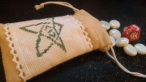 Elder Sign Dice Bag by Sirithre